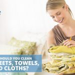 Clean Bed Sheets, Towels, and Cloths